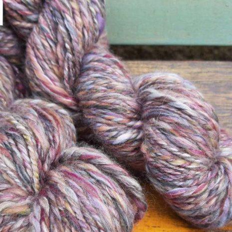 plum yarn