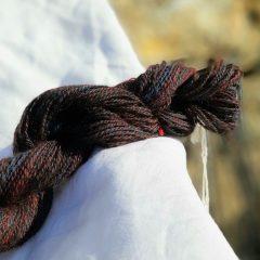 Yak/alpaca blend sock yarn